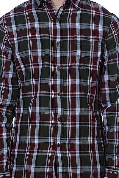 Рубашка в клетку Zoo York Ludlow Olive