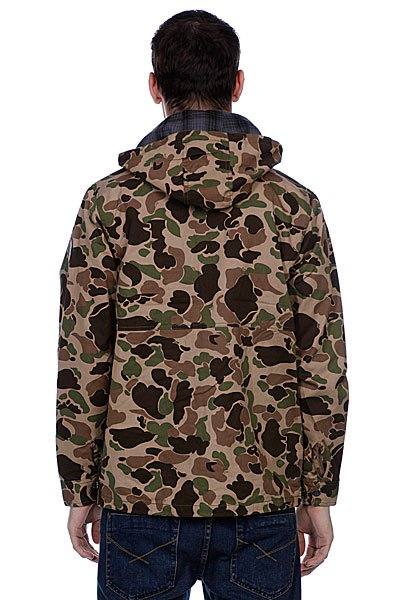 Куртка Huf Waxed Highland Jacket Duck Camo