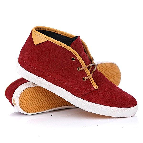 Кеды кроссовки высокие женские Pointer KC Cardinal/Ivory