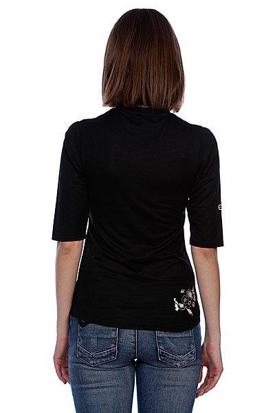 Футболка женская Animal 3/4 Sleeve Tee Black