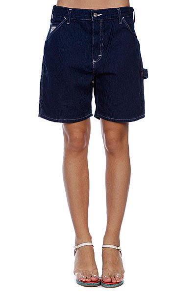 Шорты джинсовые женские Pointer Brand Womens Carpenter Jean Short Blue