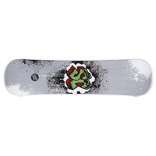 Сноускейт Santa Cruz Graffiti White