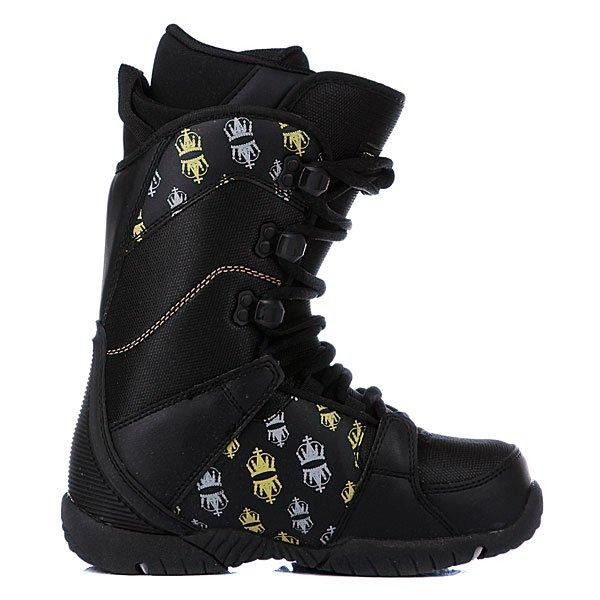 Детские ботинки для сноуборда Limited4You Thirteen Boys Black