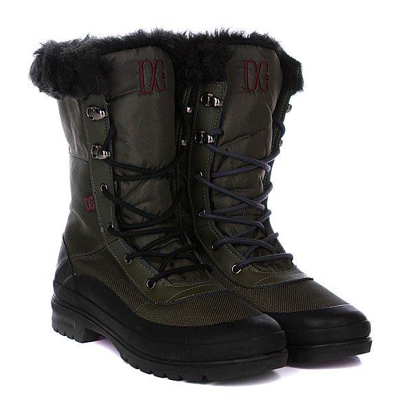 Сапоги зимние женские DC Lana Boot Olive/Black
