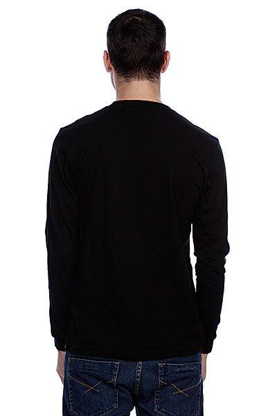 Лонгслив Globe Branded Black