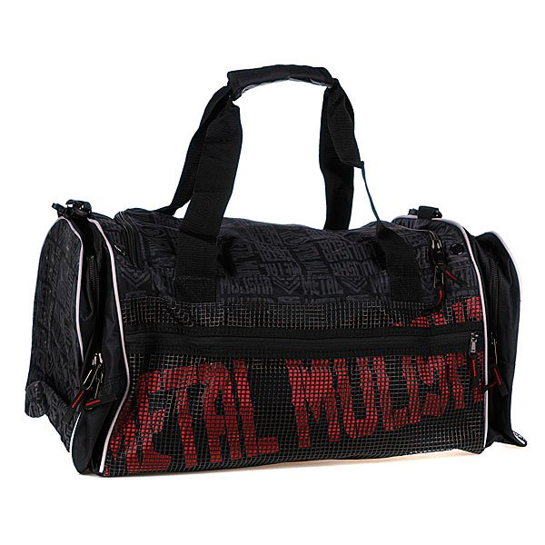 Сумка дорожная Metal Mulisha Force Recon Gym Bag Black