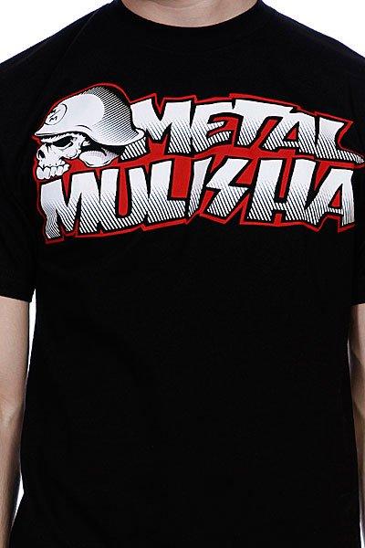 Футболка Metal Mulisha New Paint Black