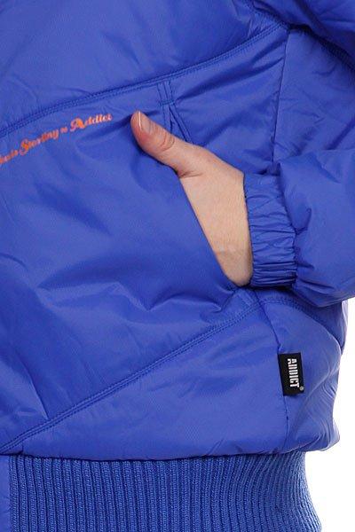 Куртка зимняя женская Addict Women Jacket Acls Down Blue