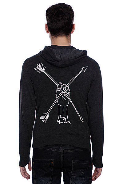 Толстовка Toy Machine Arrows Charcoal Heather
