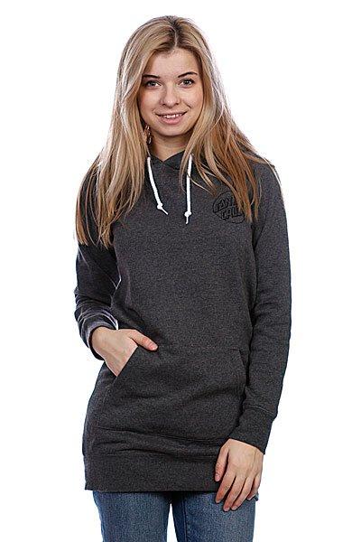 Кенгуру женское Santa Cruz Opus Dot Long Pullover Charcoal Heather