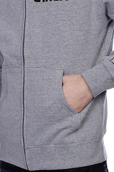 Толстовка классическая Circa Insignia Zip Fleece Athletic Heather