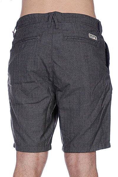 Классические мужские шорты Globe Nash Walkshort Charcoal
