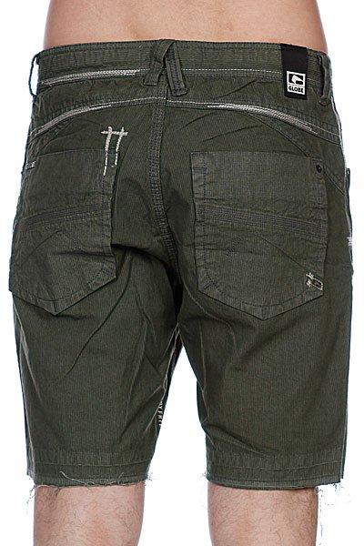 Классические мужские шорты Globe Raynor Walkshort combat green