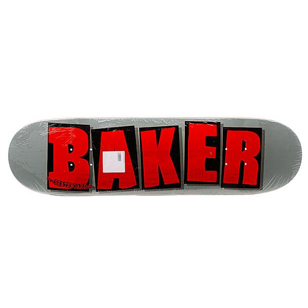 Дека Baker Brand Logo grey 8.387(21.3 см)