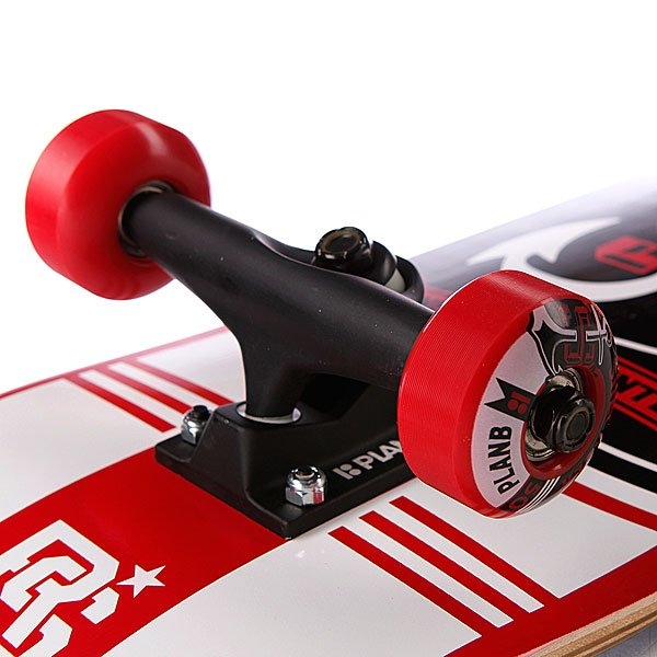 Скейтборд в сборе Plan B S3 Sheckler Crest Mini 7.625(19.4 см)
