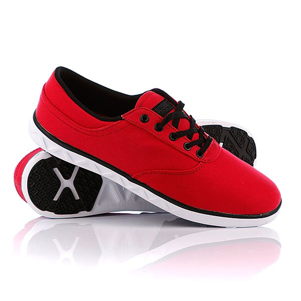 Кеды низкие Globe Lyte True Red