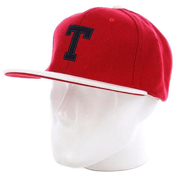 Бейсболка True Spin T Wool Red/White
