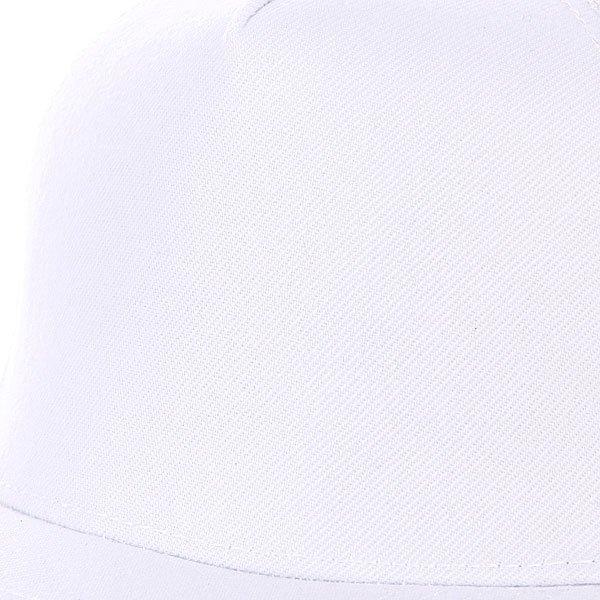 Бейсболка с сеткой True Spin 5 Panel Trucker White