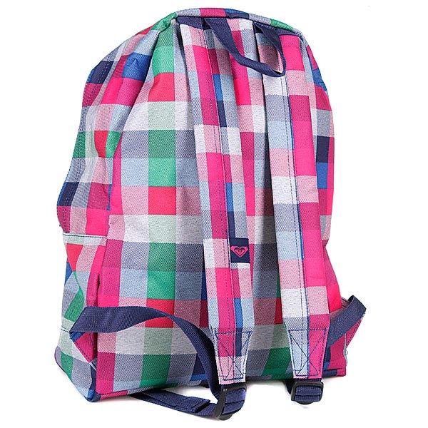Рюкзак женский Roxy Sugar Baby X3 Fancy Plaid - Подарок