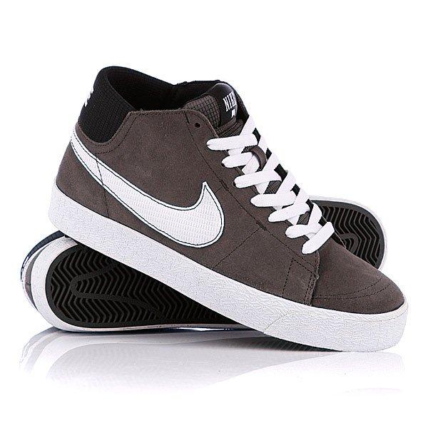 pretty nice e1f42 4ebf8 Кеды высокие Nike Blazer Mid Lr Midnight Fog White ...