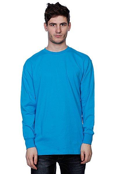 Лонгслив Urban Classics Tall Tee L/S Turquoise
