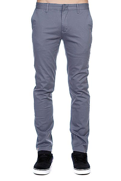 Штаны узкие Altamont Davis Slim Chino Harbor Blue