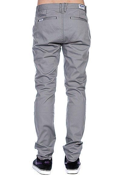 Штаны прямые Etnies Cash Out Chino Pant Grey