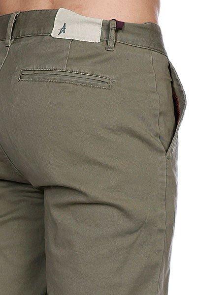 Классические мужские шорты Altamont Davis Slim Short Olive