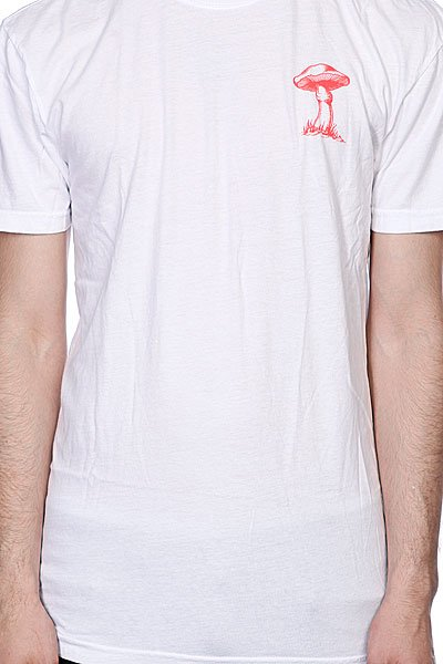 Футболка Altamont Magic Mushrooms Tee White