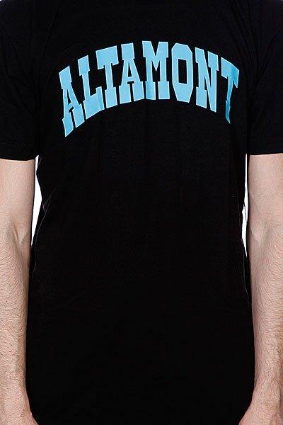 Футболка Altamont Smollege Tee Black