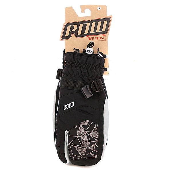Варежки сноубордические Pow Index Trigger Mitt Grey