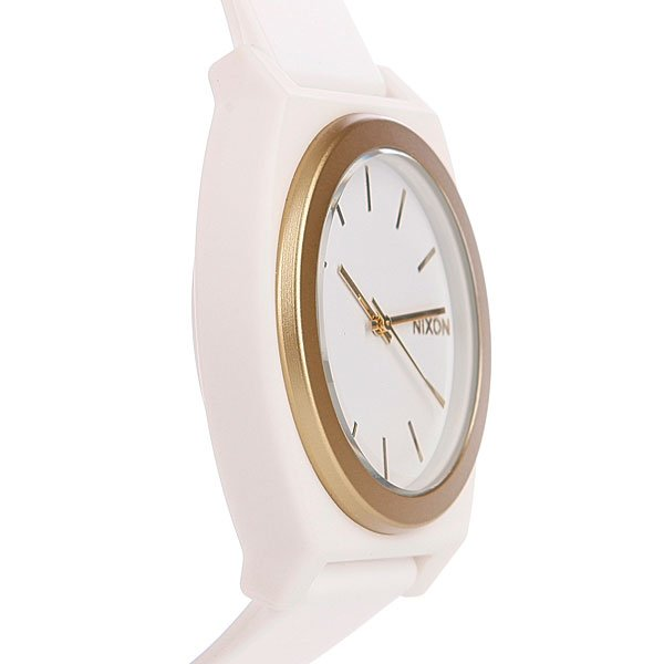 Часы Nixon The Time Teller P White Gold Ano
