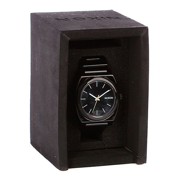 Часы Nixon The Time Teller P Black