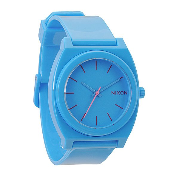 Часы Nixon The Time Teller P Bright Blue
