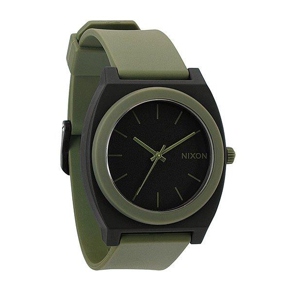 Часы Nixon The Time Teller P Matte Black/Surplus