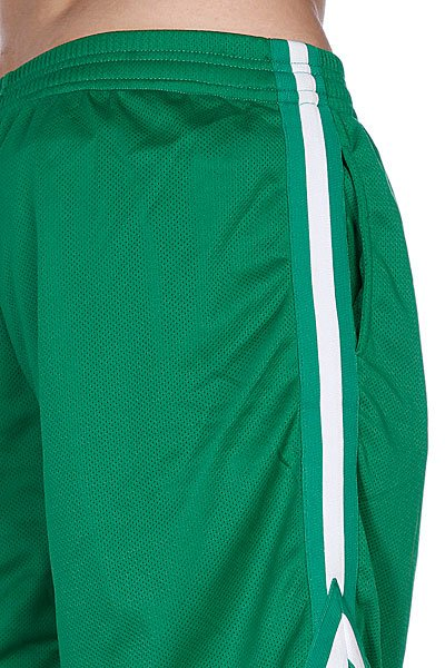 Классические мужские шорты Urban Classics Stripes Mesh Shorts White/Turquoise/Black