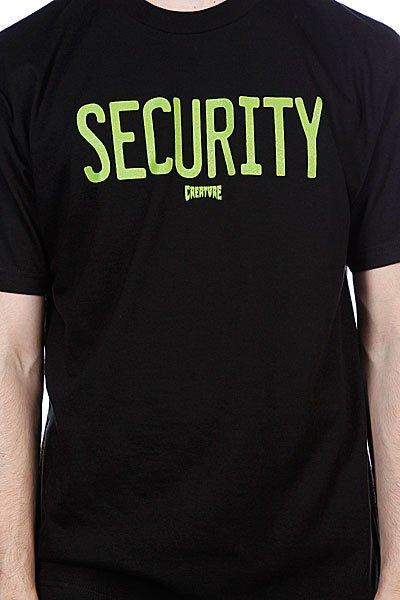 Футболка Creature Security Black