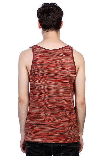 Майка Fallen Gerlach Tank Top Red Multi Stripe