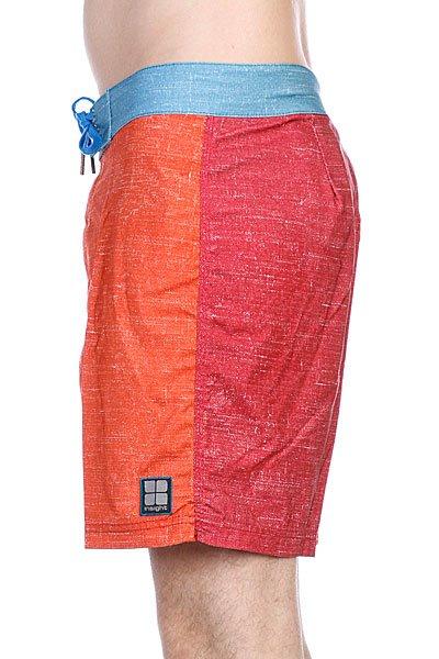 Пляжные мужские шорты Insight Multi Unstatic Mid Deadbeet