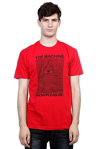 Футболка Toy Machine Toy Division Red
