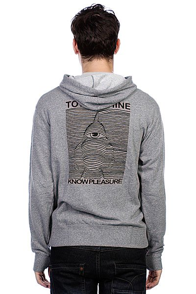 Толстовка Toy Machine Toy Division Heather Grey