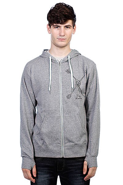 Толстовка Toy Machine Arrows Heather Grey