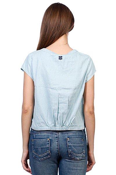 Рубашка женская Insight West Crescent Shirt Mid Blue Denim