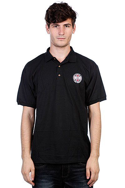 Поло Independent Truck Co Polo Shirt Black