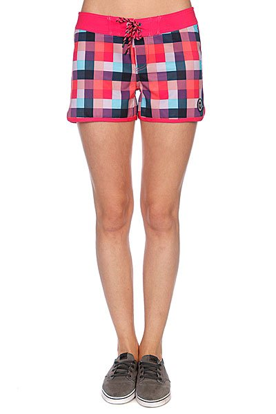 Шорты пляжные женские Roxy Buffalo Check Mid Bs Brp Buffalo Che
