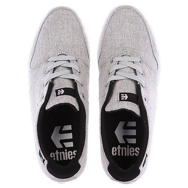 Кеды низкие Etnies Connery Light Grey/Black