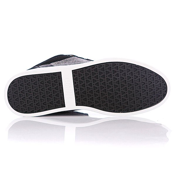Кеды высокие Etnies Jefferson Mid Black/Grey/White