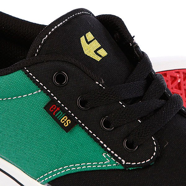 Кеды низкие Etnies Jameson 2 Black/Green