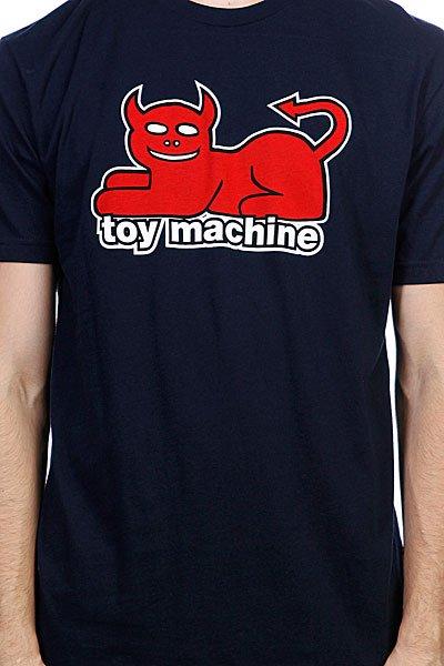 Футболка Toy Machine Devil Cat Navy
