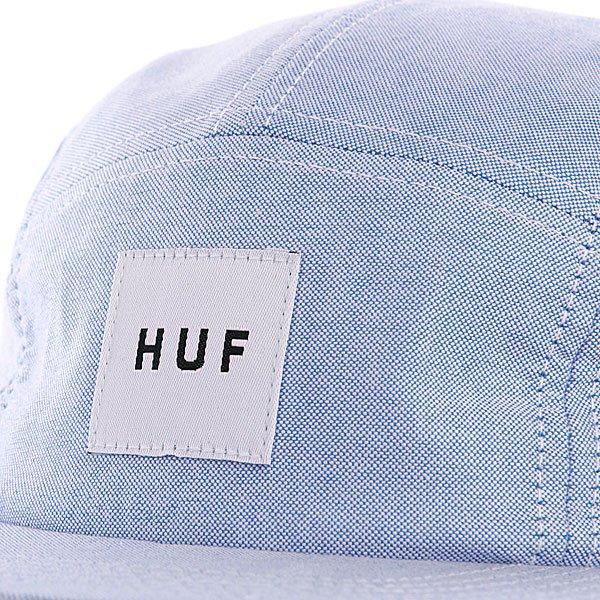 Бейсболка пятипанелька Huf Oxford Volley Blue